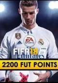 FIFA 18 - 2200 FUT POINTS PRE-ORDER ORIGIN CD KEY GLOBAL