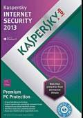 Kaspersky Internet Security 2013 1 Year 3 Users