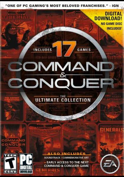 Command and conquer 17 game pack