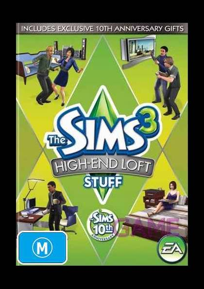 1Sims 3 High End Loft Stuff Cd Key