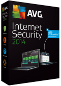 AVG Internet Security 2014 1 Year 3 Users