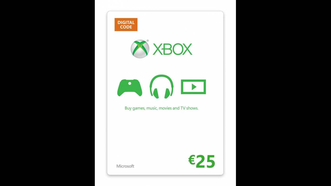 download xbox 25 eur gift card cd key online  €2613