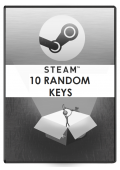 10 Random STEAM Keys Global