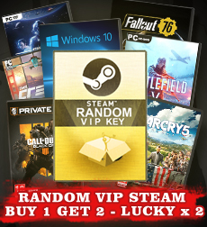 This week RANDOM VIP BUY 1 GET 2 - LUCKY X2